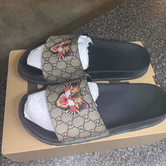7f2676f3e Gucci Shoes | Slides Angry Cat Limited Edition | Poshmark